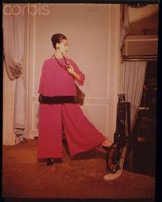 1960 - YSL 4 Dior 'Cinecitta' hostess outfit
