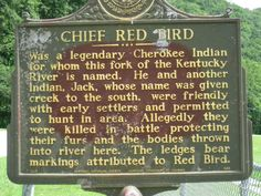 Time to take a trip to the Red Bird River!  My great great grandma was baptized in this river!