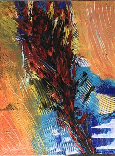 Abstract acrylic