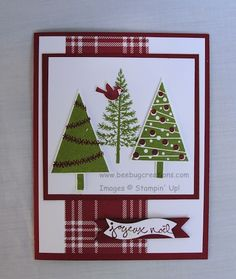 festival+of+trees+stampin+up+ideas | Festival of Trees Stampin' Up!