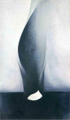 Georgia O'Keeffe- Shell and Old Shingle VI
