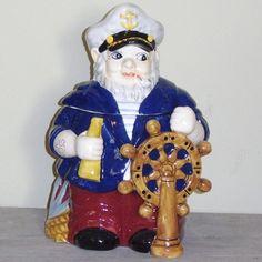 Ceramic Captain Cookie Jar