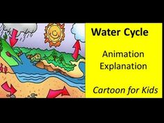 Water Cycle -Cartoons explain it for kids