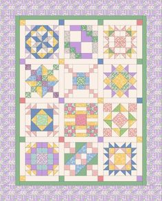 19th Century Quiltmaking - 1930s Colorway