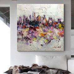 Abstract paintingacrylic painting on canvashuge sizeWall