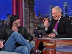 "David Letterman - ""Counting Cars"" Star, Danny Koker"