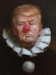 Donald Trump portrait by Tony Pro