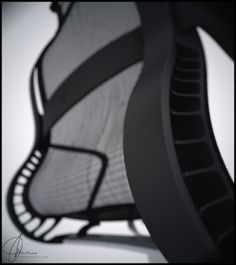 Product Visualization Chair render