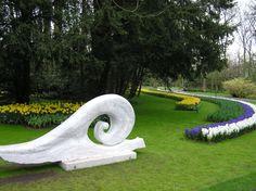 Garden Sculpture, Keukenhof Gardens, Netherlands