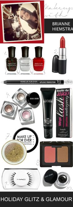 Makeup Monday | Holiday Glitz & Glamour