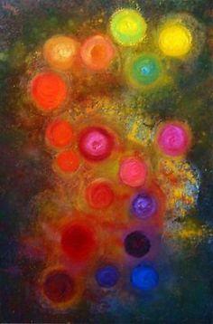 The Colours of My Soul: gemaakt door Hanneke Jonkman en gesigneerd met HannaH Materialen: acrylverf, airbrushinkt, zand, potpourri Afmetingen: 80 x 120 cm op 3 D kwaliteits canvas Het is mogelijk om het schilderij in het echt te komen bezichtigen (hangt tijdelijk in Nunspeet), stuur mij een mail voor het maken van een afspraak. Schilderij kan worden opgehaald en tegen km vergoeding a € 0,28 per km worden bezorgd