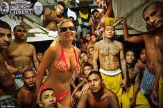 Incarcerated members of the Mara 18 gang inside the Izalco prison in Sonsonate, El Salvador - Meridith Kohut Chicano, Mafia, Ms 13 Gang, Street Tattoo, Latin America, South America, Documentaries, Crime, Death
