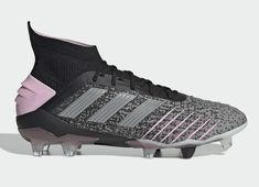 1f97454d22815 Adidas Predator 19.1 FG - Core Black / Silver Metallic / Multi Solid Grey  #footballboots