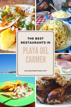 After a long day in the sun and sea, food just tastes ten times better! From delicious tacos to wonderful seafood, here are some of the best restaurants in Playa del Carmen, Mexico. Central America, North America, Food Places, Short Trip, During The Summer, Amazing Destinations, Mexican Food Recipes, Seafood, Mexico