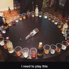 Adult version of spin the bottle. Adult version of spin the bottle. The post Can drinking get any better? Adult version of spin the bottle. appeared first on Lynne Seawell& World. 21 Party, Party Time, Drunk Party, Neon Party, Drinking Games For Parties, Adult Party Games, Adult Games, Halloween Drinking Games, Best Drinking Games
