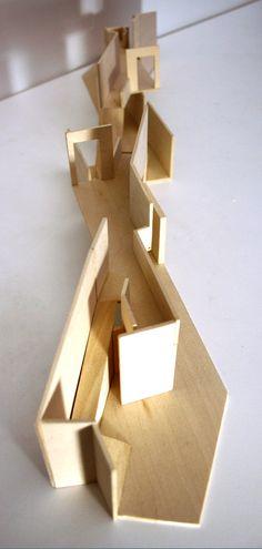 split duality Light Architecture, Concept Architecture, Daniel Libeskind, Arch Model, Exhibition Space, Conception, Urban Design, Layout, Graphic Design