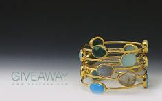 Enter the Rio Bangle Giveaway. Like our facebook and follow Pinterest to Win. http://www.facebook.com/PradmanJewels