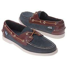 Sebago Spinnaker Shoes (Blue/Brown) - Men's Shoes - 14.0 W