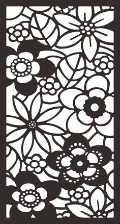 Hollow out decorative pattern
