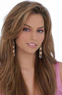 Light Caramel Brown Hair Color :
