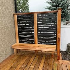 H x 3 ft. W Branch Metal Privacy Screen Backyard oasis privacy screens Hideaway Screens 6 ft. H x 3 ft. W Branch Metal Privacy Screen Privacy Fence Designs, Outdoor Screens, Privacy Screen Outdoor, Privacy Panels, Deck Privacy Screens, Privacy Wall On Deck, Hot Tub Privacy, Outdoor Decorative Screens, Pallet Privacy Fences