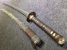 Japanese Blades, Japanese Sword, Japanese Mask, Samurai Swords Katana, Types Of Swords, Sword Design, Style Japonais, Gift Of Time, Lame