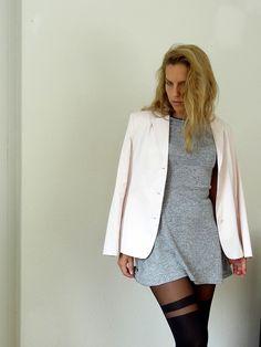 Inge Klaus Blazer Designer Hellrosa Pastell Rosa 40 - kleiderkreisel.de