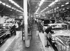 Chevrolet Factory Assembly Line