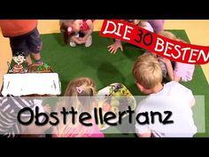 Obsttellertanz - Singen, Tanzen und Bewegen || Kinderlieder - YouTube