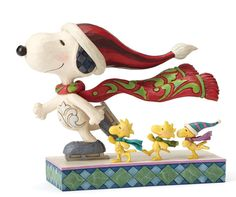 Peanuts - Ice Skating Snoopy Woodstock & Friends by Jim Shore NEW  27400