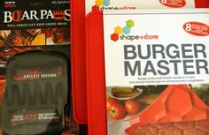 Burger Master and Bear Paws Set