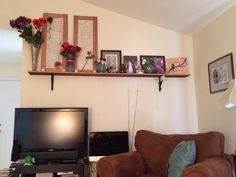 Living room shelf mount!