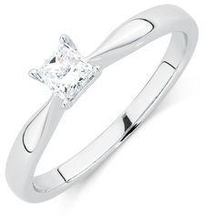 1/3 Carat Diamond Solitaire Ring