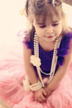Little girls in pearls, ADORE