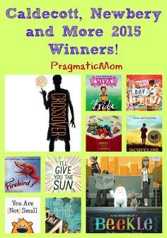 Caldecott, Newbery and More 2015 Winners!  :: PragmaticMom