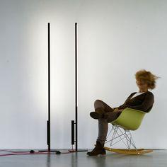Luminária de pé LED com luz direta e indireta COLIBRÌ | Luminária de pé com luz direta e indireta by Martinelli Luce