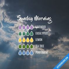 Sunday Morning — Essential Oil Diffuser Blend