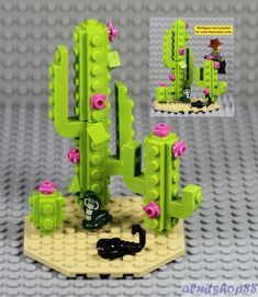 LEGO - Desert Scene w/ Cactus Plant Scorpion Cobra Snake Wild West Cowboy Flower | Toys & Hobbies, Building Toys, LEGO | eBay! #cactusdesert #DesertScenes