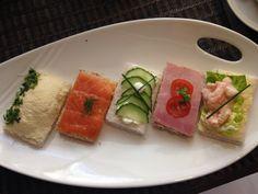Open Sandwiches as part of Afternoon Tea Hilton,Park Lane