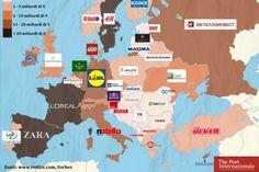 I più ricchi d'Europa