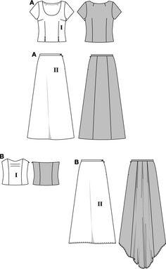 Medieval skirt pattern?