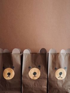 Custom Made: A Brown Bear Party by Erin Jang   Oh Happy Day!