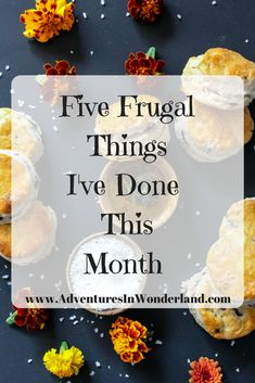 Frugal things I've done in February to help save money and stretch our budget. #frugal #frugalliving