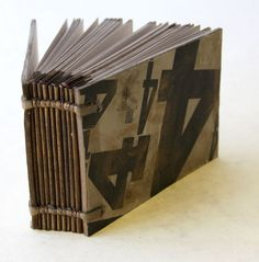 Handmade book by Gatis Cirulis + Katya Reka of STUDIO OSTA , via Behance