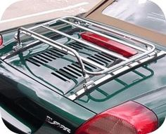 Awesome rear lid luggage rack for MR2 SPYDER