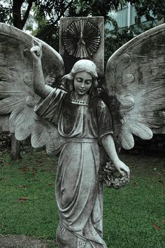 Angel of Armenia in the Memorial Garden to Armenians... :)