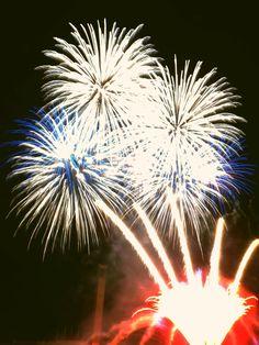 Feuerwerk, ein Zauber aus vielen 1000 Funken