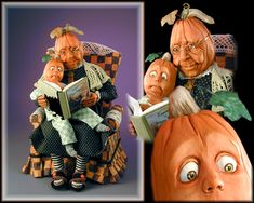 "Jodi and Richard Creager have created Granny Autumn""  I just love the details and the wonderful ""realistic"" characters"