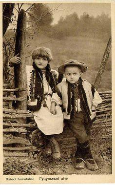 Hutsul kids, W Ukraine, from Iryna