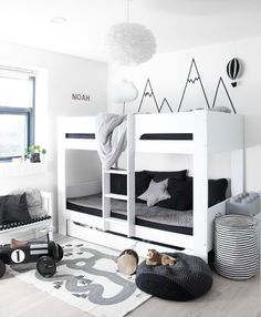 "246 Likes, 31 Comments - Sabina M. (@my.little.royals) on Instagram: ""Boys room . Mit bidrag til #fredagsinspo med @hanneromhavaas og #weekend_inspo @trineroed to…"""